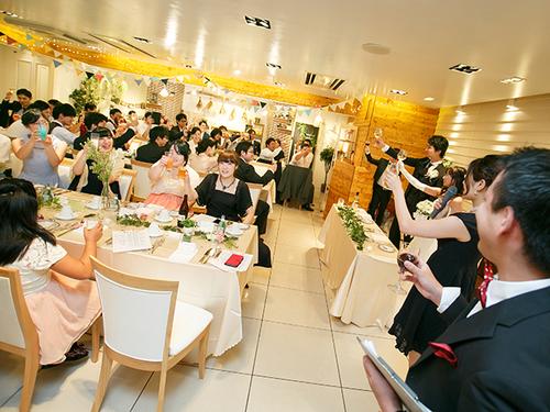 恵比寿で結婚式二次会ならル・マクサンス