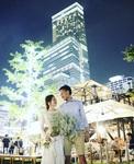 天王寺てんしば「青いナポリ イン・ザ・パーク」で結婚式二次会