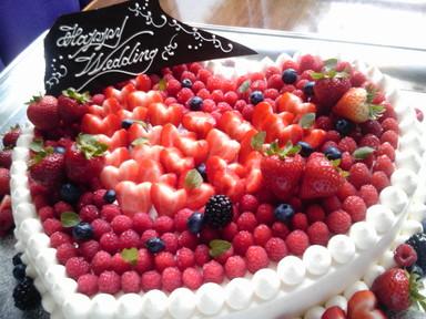 オリジナルウエディングケーキ!