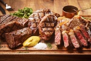 黒毛和牛門崎熟成肉など豊富な肉を堪能出来るプランをご用意。