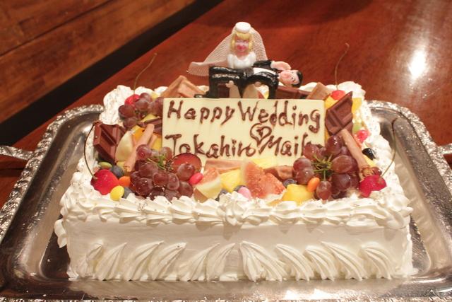 新郎新婦も大喜び!ウェディングケーキ