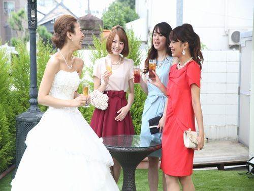 ともプレ結婚式!!