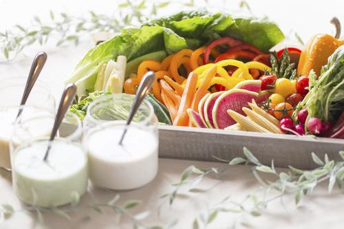 国産有機野菜のバーニャカウダ