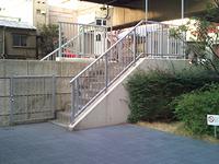 階段を登って★