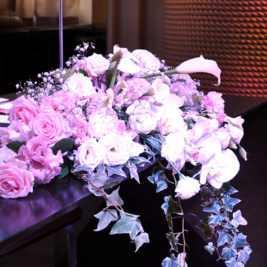 お花もついてきちゃいます