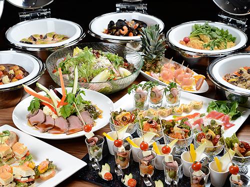 洋食ビュッフェ