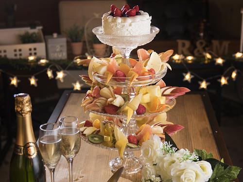 フルーツたっぷりのケーキをご用意!