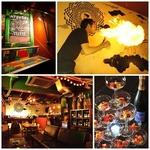 札幌では数少ない炎のフレアショーでお祝いします!