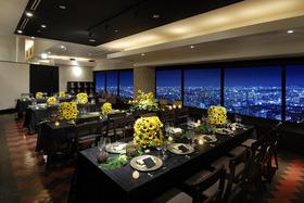 地上150メートル、高層ビルの38階!天空のレストラン!
