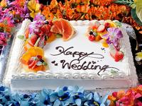 特製ウェディングケーキ