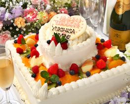 ケーキのデザインも思いのまま♪