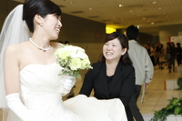 月10件以上の結婚式二次会を行なわせていただいております